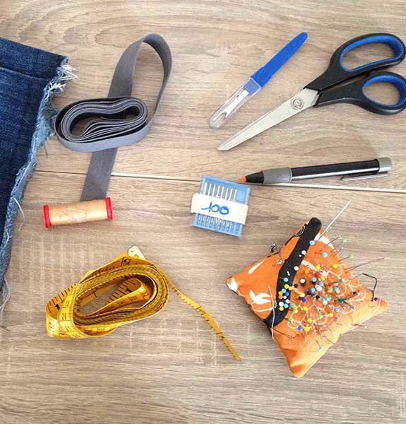 Retouches et réparations de vêtements